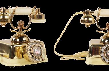 stary telefon